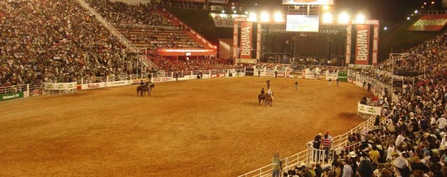 festas de rodeio no Brasil