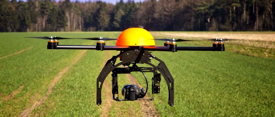 utilizacao de drone nas atividades rurais