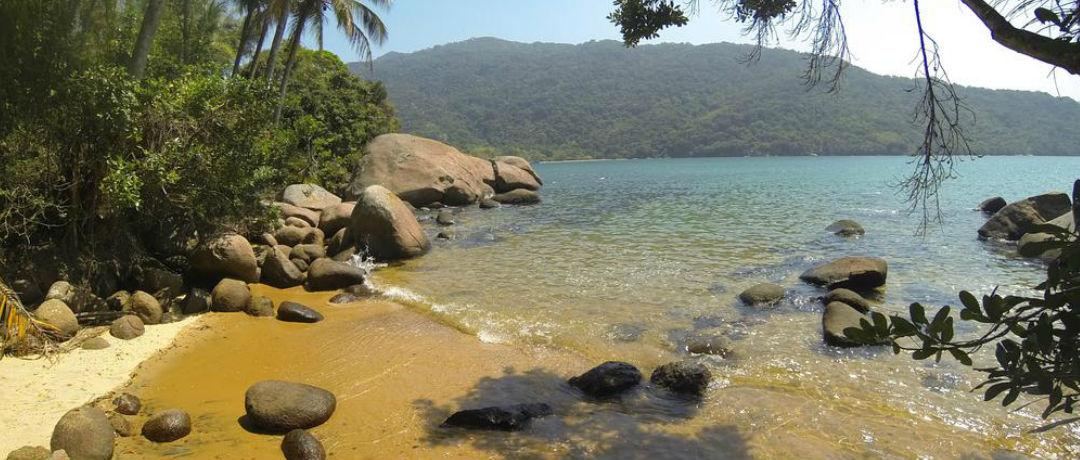 praia brava das palmas ilha grande