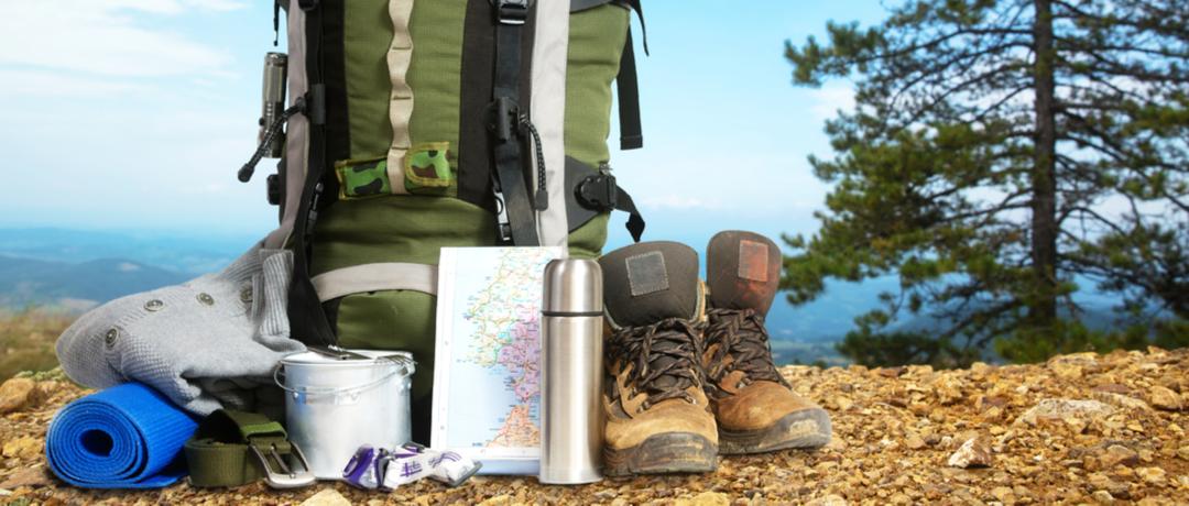 O que é necessário levar para um acampamento?
