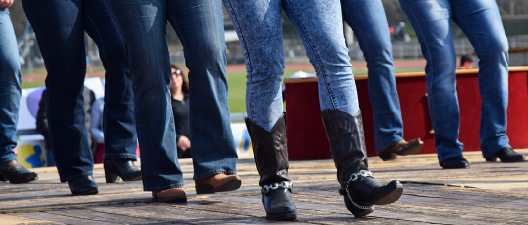 Botas femininas no mundo Country