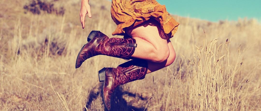 saia de cowgirl